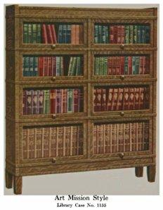 GW Mission style bookcase